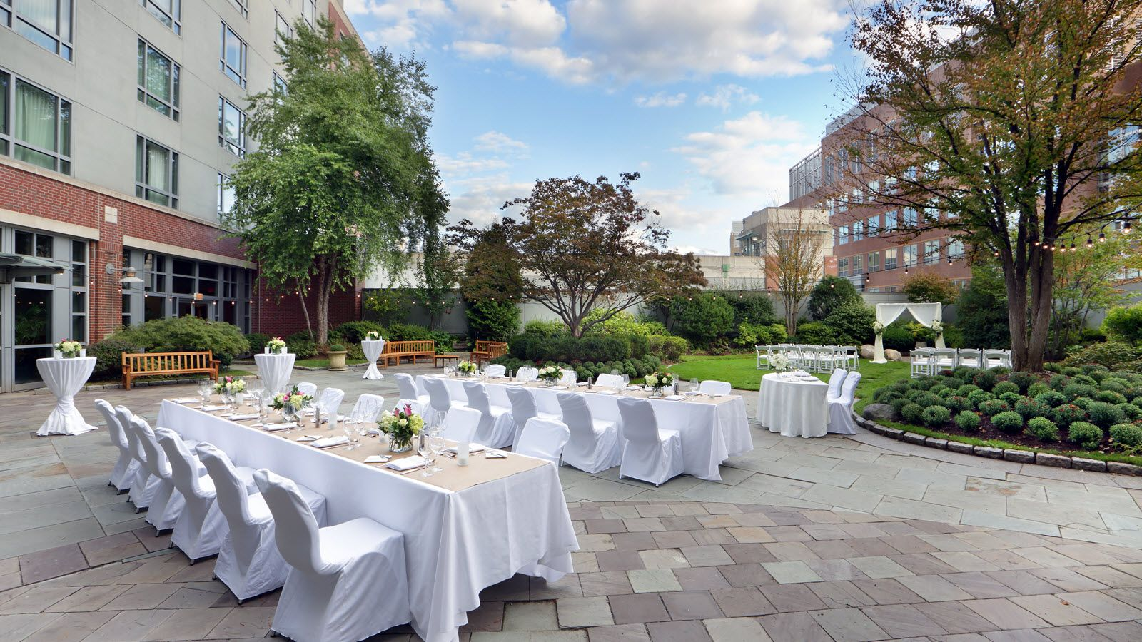Cambridge Wedding Venues Roof Garden